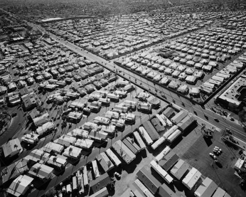 Michael Light, Trailer Park Communities, Looking South, Phoenix, Arizona, 2007