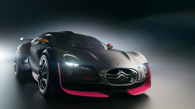 qcertified:  Citroën Survolt Beautiful all-electric sportscar: 0-60 in under 5 seconds, 160mph top speed
