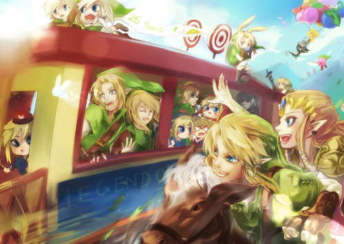 25 years Legend of Zelda by ~Miyukiko