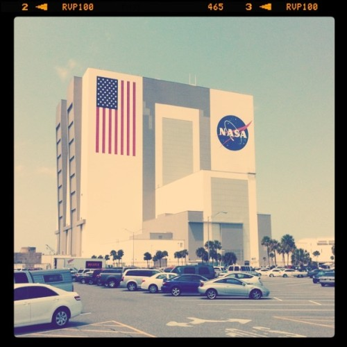 VAB (Taken with Instagram at Vehicle Assembly Building (VAB))