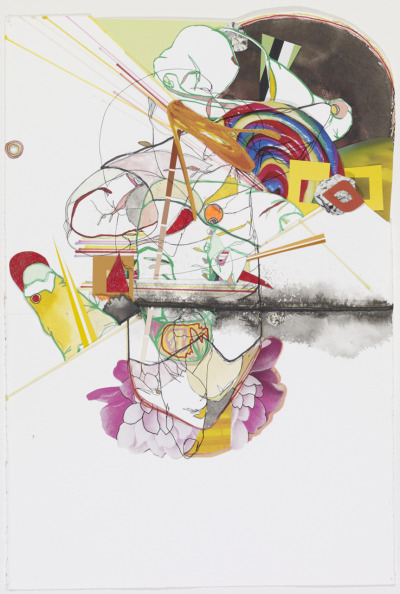 2009  mixed media & collage on paper by Amy Boone-McCreesh (via)