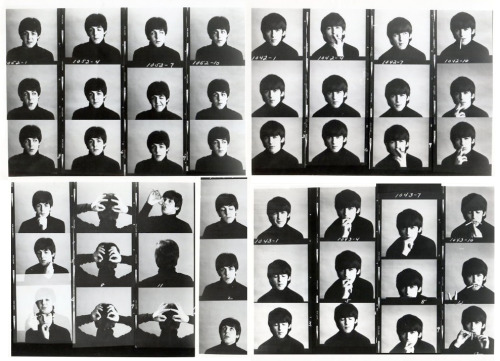 Paul McCartney and George Harrison outtakes from A Hard Day's Night (1964)
