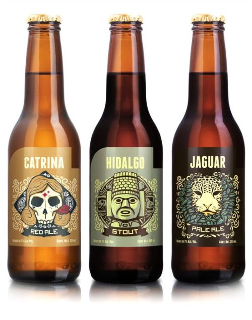 Illustrated Beer Designs