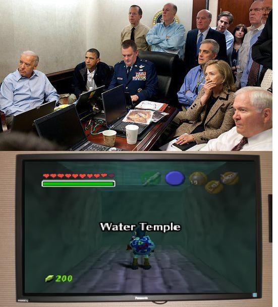 frednicotra:  The Fucking Water Temple is serious business.