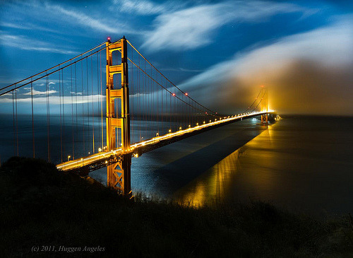 onieric:  The Bridge (by hug n angels)