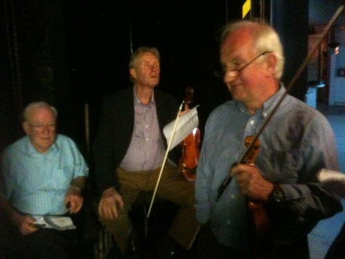 Backstage #RiadaConcert @ Glór in Ennis 22nd May 2010.