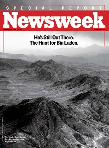 newsweek:  [This, via our gallery of bin Laden Newsweek covers.]  And Newsweek's archives of bin Laden coverage too.