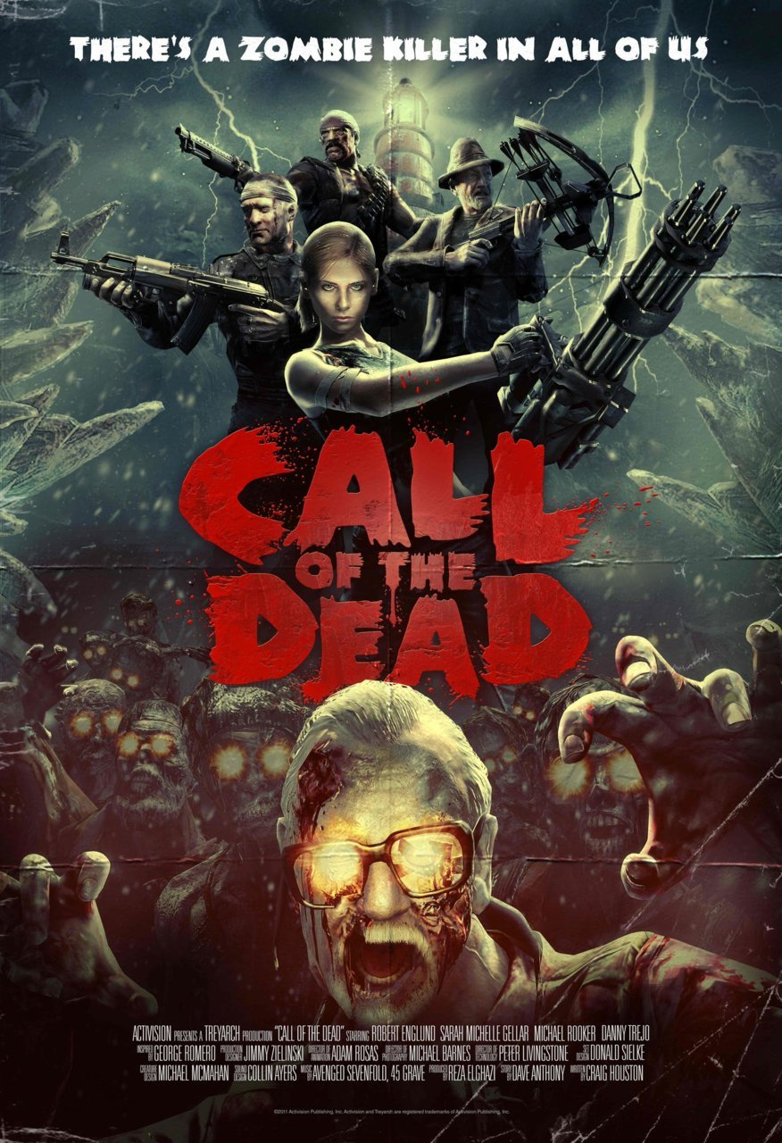 gamefreaksnz:  Call of the Dead poster Download the high resolution version on  http://www.callofduty.com/media/screenshots