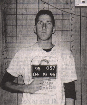 Timothy McVeigh   Date:  April 19, 1995 Location:  Perry, Oklahoma Crime:  Use of a weapon of Mass Destruction ( Oklahoma City Bombing )   A former member of the U.S. Army, McVeigh wanted revenge for the Waco Seige and other government raids.  He and a friend constructed and mounted an AMMN explosive device on the back of a Ryder rental truck.  On April 19, 1995 McVeigh drove and parked the truck in front of the Alfred P. Murrah Federal Building, just as it's offices and daycare opened up for the day.  At 9:02am a large explosion destroyed the north half of the building.  The explosion killed 168 people and 450 were injured.  McVeigh was indicted on 11 federal counts, including conspiracy to use a weapon of mass destruction, use of a weapon of mass destruction, destruction by explosives, and eight counts of first-degree murder.  He was found guilty of all 11 federal charges and sentenced to the death penalty.     On June 11, 2001 Timothy McVeigh was executed by way of legal injection.   Timothy McVeigh