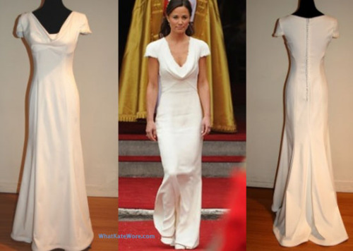 You too can wear Pippa's Maid of Honour dress (ahem).