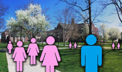 "For Aden, being transgender at an all-women's college ""really helped me to become a different kind of man. I think if I were at a co-ed institution, I would have tried harder to fit into the mold of what a man should be, stereotypically. And I think there wasn't that pressure—I could be whoever I wanted to be because I was one of the few boys there. I definitely think it pushed me to go beyond what people expect a man to be."" - From ""The Man in the Women's College"" for The Good Men Project"