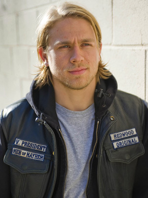 Charlie Hunnam I loved him.  Then I found out he was English.  I'm a goner.