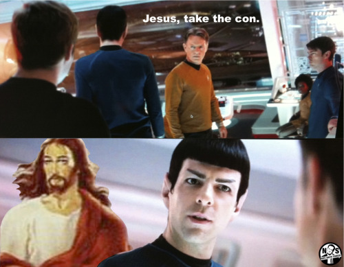 Jesus, take the con.