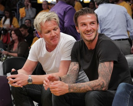 Unbeknownst to Beckham he is about to enter Hell's Kitchen