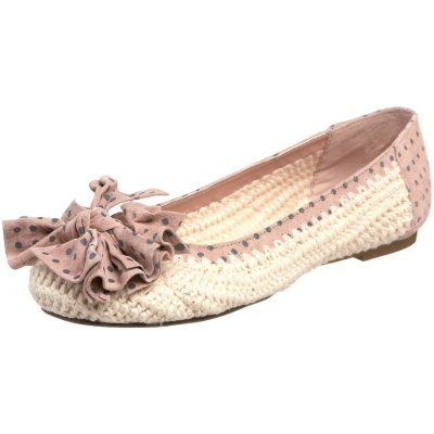 bride2be:  betsey johnson tammiee ballet flat in blush