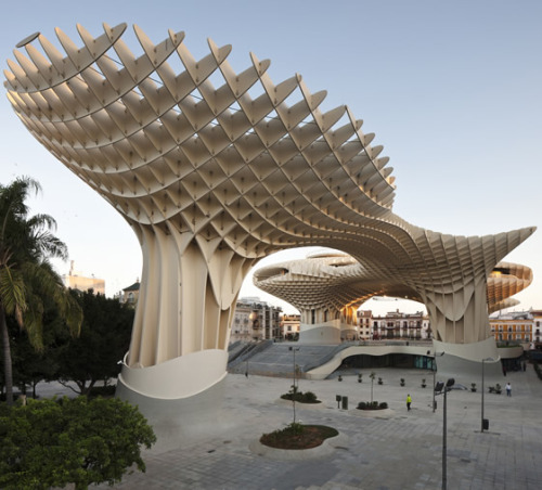 Metropol Parasol, Seville  we're blown away by Berlin architects' iconic new urban space…