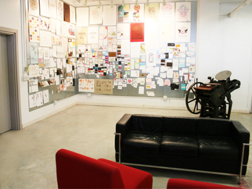 (via Studio On Fire lives up to its new space « Felt & Wire)