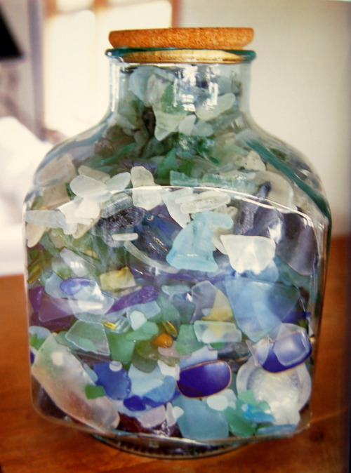 Seaglass! | Mary Emmerling's Beach Cottages: at home by the sea |pg6|Photo: Carter Berg