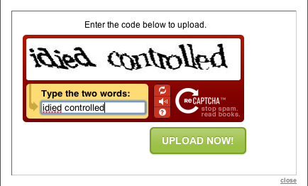 "ReCAPTCHA is getting more evil by the minute. ""Say it….SAY IT!"""