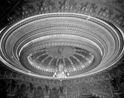 Oriental Theater dome. Portland, OR.