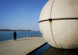 sphere by the Lake