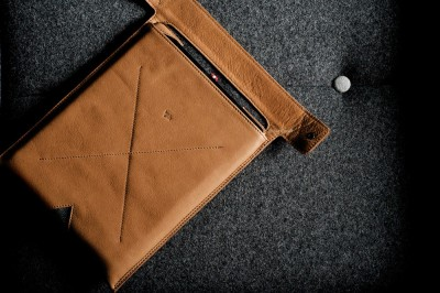 HardGraft iPad Leather Sleeve