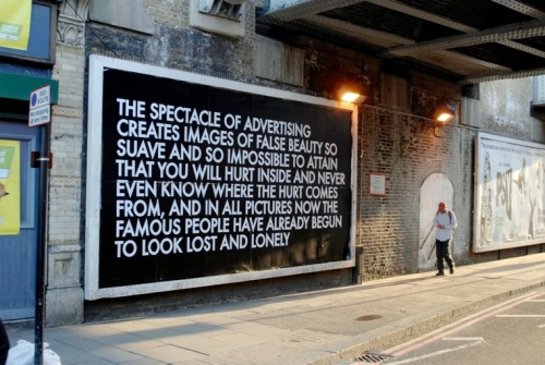The Spectacle Of Advertising by Robert Montgomery.