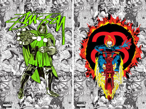 Stussy x Marvel.  Killing it.