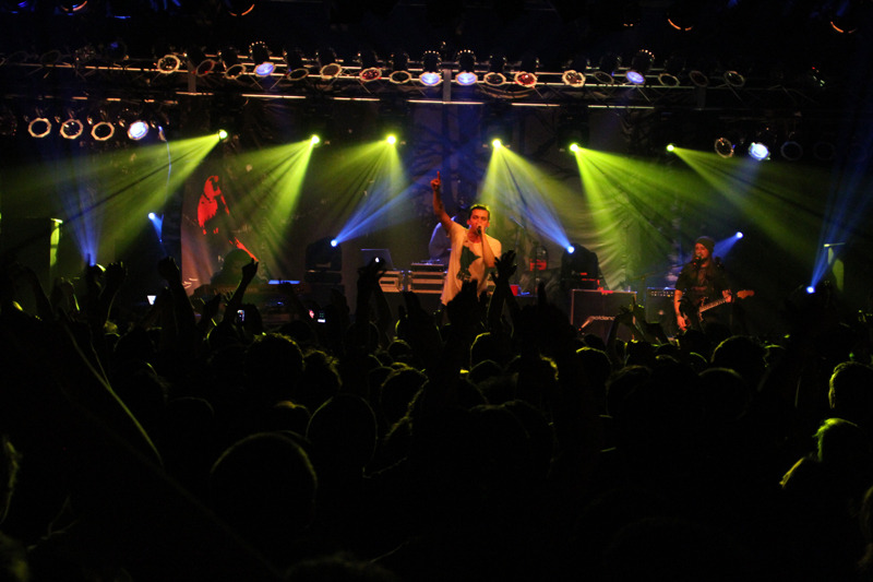 Atmosphere performing at a show on the Family Tour