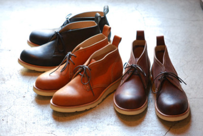 Roberu Ground F/W 2011 Chukka boots