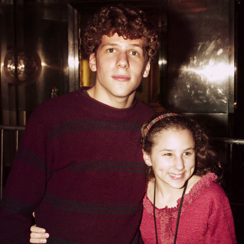 imdaniellle:  jesse eisenberg's little sister is the pepsi girl… MIND.IS.BLOWN.  wow.  maybe that's why he looked so familiar to me the first time I saw him. haha