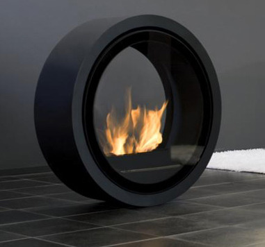 This stunning fireplace is called 'Roll' and has been designed by Encompass. Due to its technically advanced design, the way in which it can move on bearings and be placed in any room (interior or exterior), throughout the house makes this a really exquisite, contemporary piece for the home. The glass firescreens on both sides of Roll's face are magnetic so are easily manoeuvrable, and there is also an option to mount the beautiful piece to the wall, too! What are your thoughts on this product? Where would you place this in your home?
