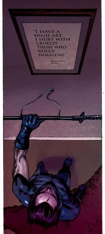 """…and what I do ain't pretty"" (Uncanny X-Force #9, 2011)"