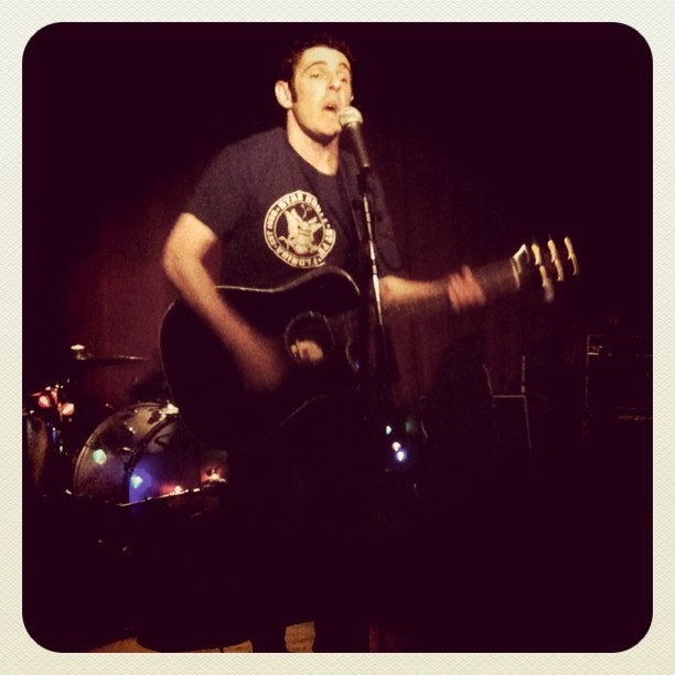 Jonah Matranga (Taken with Instagram at Maxwell's - Hoboken, NJ)