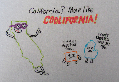 cajunmama:  Coolifornia (by lilyvanilli72)