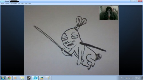 lawless-kai:  Were are having a drawing session :3 judithgreene  riiiiiiiiiiiiiiiiiiiiiiiiiiiiiiiiiiiiip  fuuuuuuuu