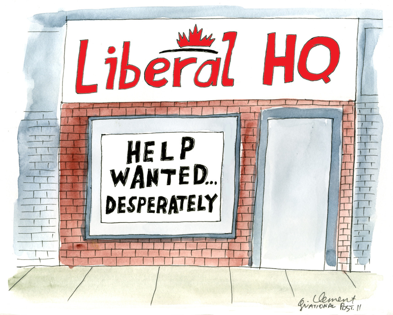 Chris Selley's Full Pundit: Liberals, heal thyselves Keith Beardsley: Dear Liberals, Progressive Conservatives feel your pain Jeff Jedras: A view from the Liberal rank and file Rex Murphy: Liberal party may spend a long time out in the cold
