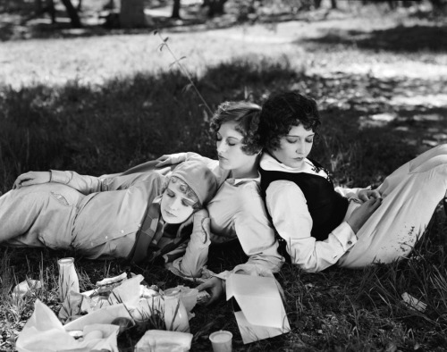 Dorothy Sebastian, Joan Crawford and  Anita Page in Our Dancing Daughters (1928) Image Source: Dr. Macro's