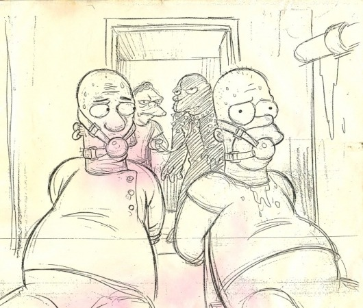 ksilveira:  Simpsons Pulp Fiction drawings