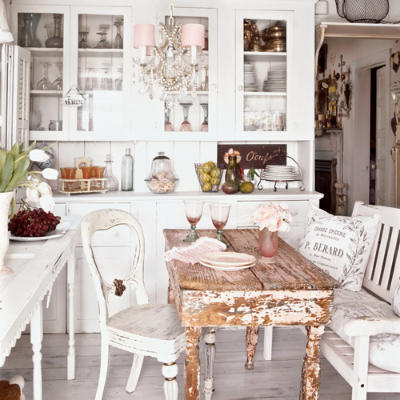 lovely spring kitchen