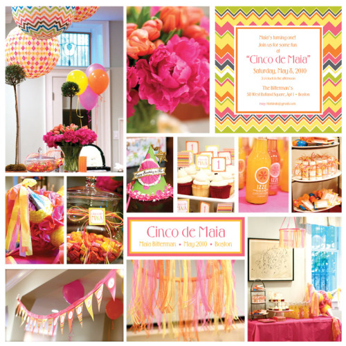 Cinco de Maia: Fiesta Themed 1st Birthday Party {via thepartydress}