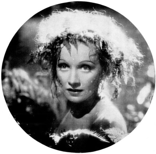 Marlene Dietrich in a publicity still for Knight Without Armor (1937) Image Source: Flickr