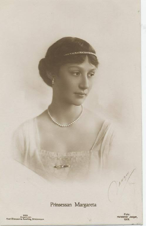 Princess Margareta of Sweden.