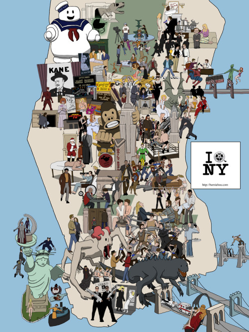 NYC MOVIE MAP <3