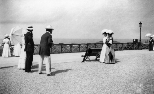 On the Promenade by Jacques-Henri Lartigue, 1894
