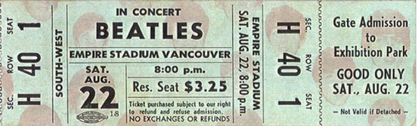 distraction:  destroyingsenses:    $3.25. $3.25. $3.25 TO SEE THE BEATLES   what? WHAAAT?   i was born in the wrong time period