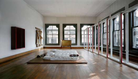 Donald Judd's Bedroom, 5th Floor, 101 Spring Street, New York, NY via: ummhello