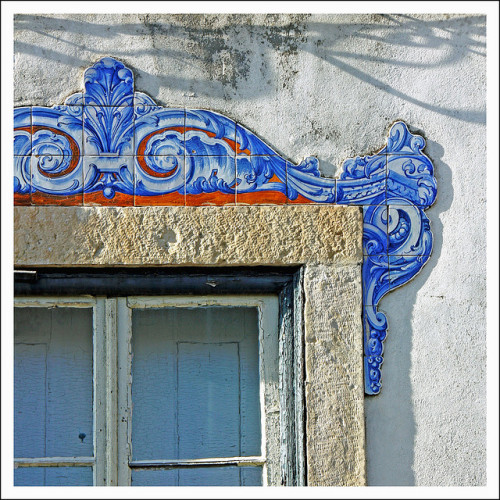 Lisbon window detail