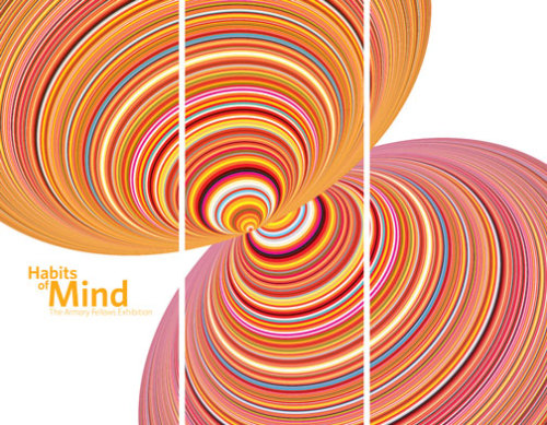the beautiful new card for the Habits of Mind Exhibition here at One Colorado, May 14-June 12.