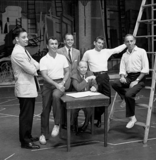 …Arthur Laurents & the creative team of West Side Story…